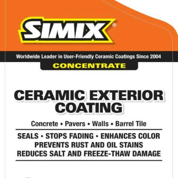 simix ceramic exterior coating