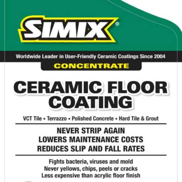 simix ceramic floor coating