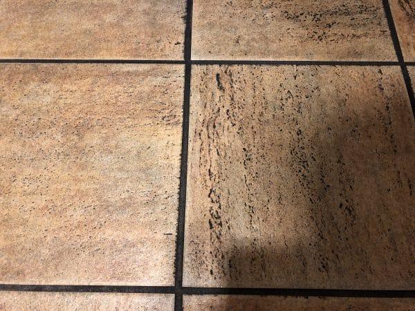 Simix Cleans ceramic tile floors