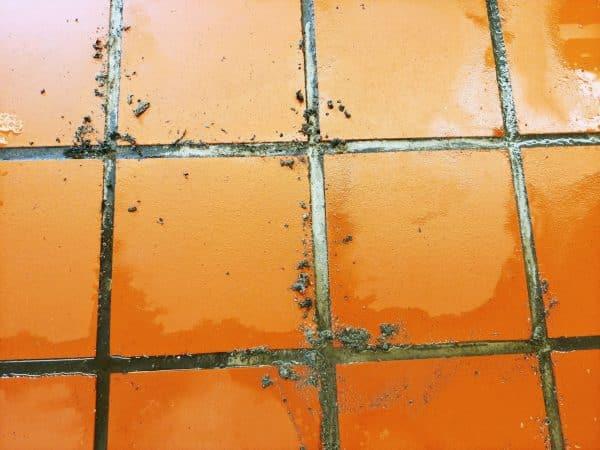 Simix cleans quarry tile kitchen floors