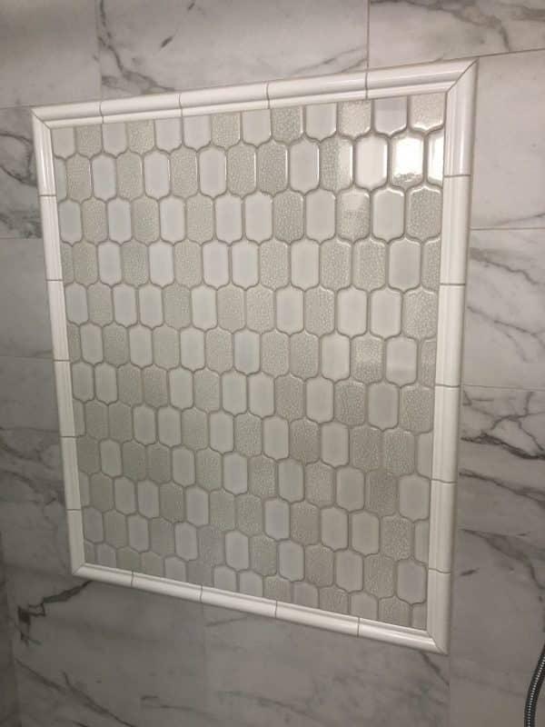 Ceramic Tile Shower coated with 2 coats of Simix Multi-Surface Ceramic Coating. Sealed and Protected!ile